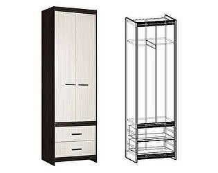 Купить шкаф Мебель Маркет Логика 2-х створчатый с ящиками