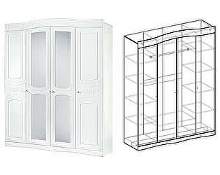 Купить шкаф Мебель Маркет Шкаф 4х створчатый