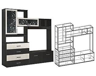 Купить гостиную Мебель Маркет Центральная секция Альтернатива