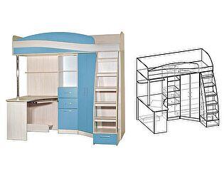 Купить кровать Мебель Маркет Детский уголок Симба правый