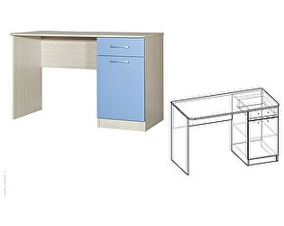 Купить стол Мебель Маркет Симба рабочий