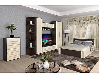 Купить спальню Мебель Маркет Берта Комплект 1 (Венге/Ясень Шимо светлый)