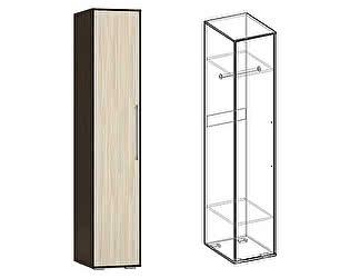 Купить шкаф Мебель Маркет Пенал Берта (Венге/Ясень шимо светлый)