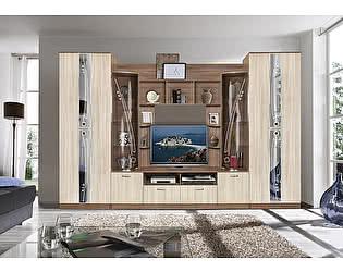 Купить гостиную Мебель Маркет Мадрид 7 (Ясень Шимо темный/Ясень Шимо светлый)