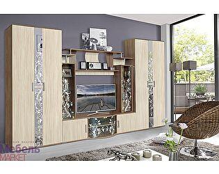 Купить гостиную Мебель Маркет Алегро Комплект 1 (Ясень Шимо)