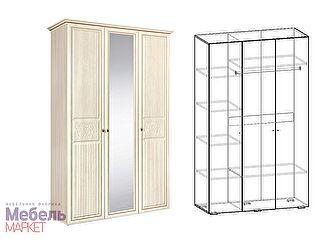 Купить шкаф Мебель Маркет Виктория (Джина) 3х створчатый
