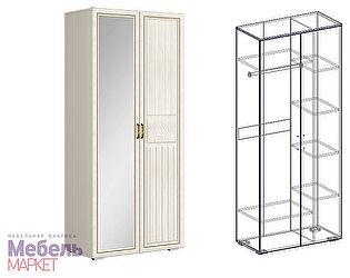Купить шкаф Мебель Маркет Виктория 2х створчатый комбинированный правый