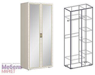 Купить шкаф Мебель Маркет Виктория 2х створчатый комбинированный с зеркалом