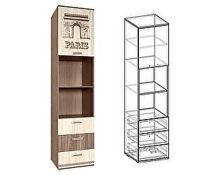Купить шкаф Мебель Маркет Пенал Сенди открытый правый