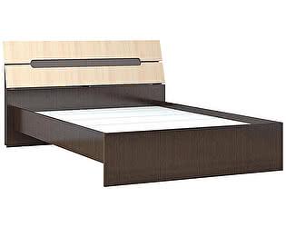 Купить кровать ТЭКС Гавана (дуб молочный) 1,6 с основанием ДСП