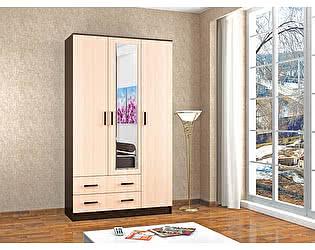 Купить шкаф ТЭКС Лагуна комбинированный с зеркалом
