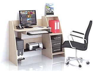 Купить стол ТЭКС Грета-9 (Венге) компьютерный