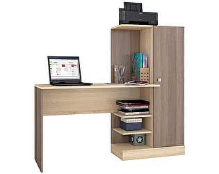 Купить стол ТЭКС Квартет-6 (Ясень шимо) компьютерный
