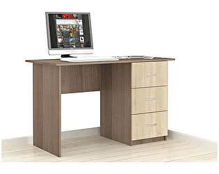 Купить стол ТЭКС Сити-1 (Ясень шимо) письменный