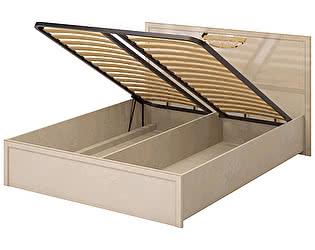 Купить кровать Ижмебель Милан 5 двойная 1600 ПМ (К-2) с подъемным механизмом