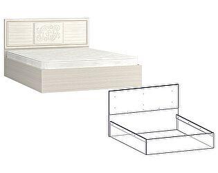 Купить кровать Мебель Маркет Виктория (Джина) 1800, изголовье МДФ