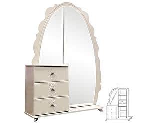 Купить комод КМК Жемчужина с зеркалом КМК 0380.12