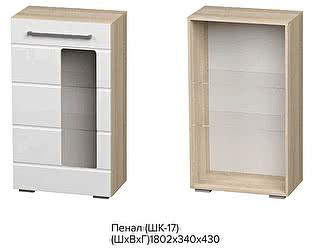 Купить шкаф BTS Пенал Милан ШК-17 Сонома