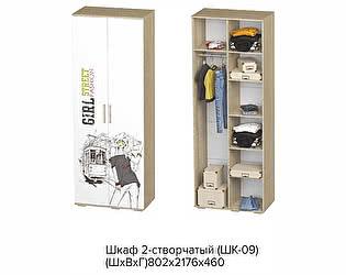 Купить шкаф BTS ШК-09 STREET GIRL