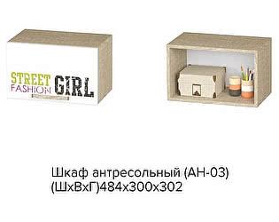 Купить шкафчик BTS Сенди АН-03 STREET GIRL