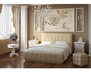 Купить кровать Арника Лорена Лайт Беж 140х200 с основанием
