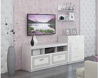 Купить гостиную МСТ Белла Рамух белый Комплект 1