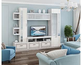 Купить гостиную МСТ Белла Рамух белый Комплект 3