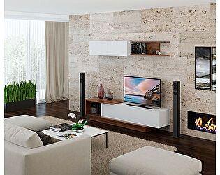 Купить гостиную МСТ Гостиная ROMA Лагос/Белый