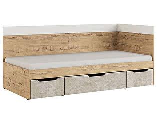 Купить кровать МСТ Дублин Стоун 90, модуль 1