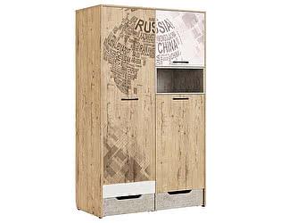 Купить шкаф МСТ Дублин Стоун для одежды, модуль 10