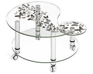 Купить стол МСТ Махаон стеклянный