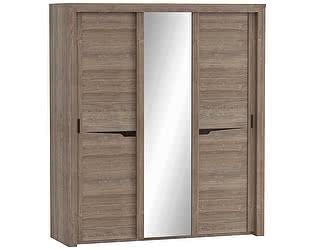 Купить шкаф МебельГрад Соренто 3-х дверный с раздвижными дверями Дуб Стирлинг