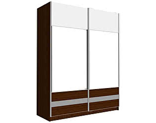 Купить шкаф RADO Grande купе 2-х дверный с зеркалом