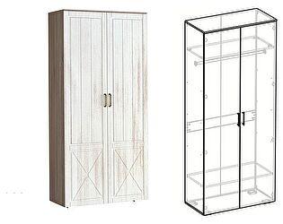 Купить шкаф Мебель Маркет Афина 2х створчатый (440)