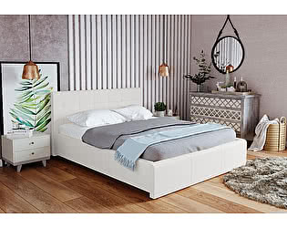 Купить кровать Арника Лаура Вайт 1600 с подъемным механизмом