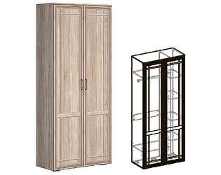 Купить шкаф Мебель Маркет Бруно 2-х створчатый комбинированный (440)