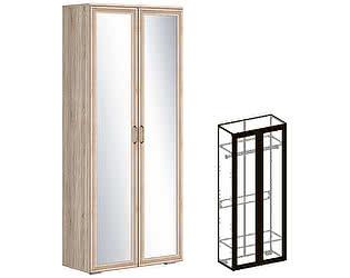 Купить шкаф Мебель Маркет Бруно 2-створчатый (440) с зеркалом