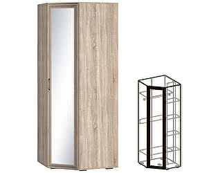 Купить шкаф Мебель Маркет Бруно угловой зеркальный 540
