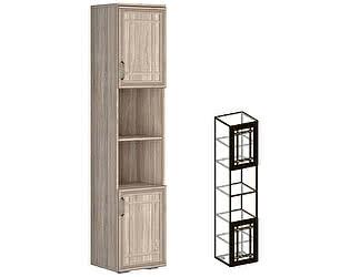 Купить шкаф Мебель Маркет Пенал Бруно полуоткрытый 440