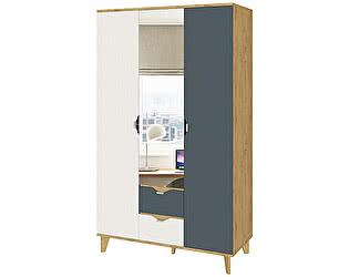 Купить шкаф Интеди Модена ИД 01.392 3-х дверный с зеркалом