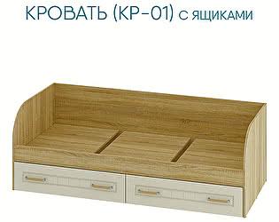Купить кровать Мебелони Маркиза детская КР-01