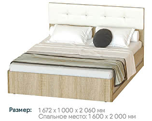 Купить кровать Мебелони Белладжио КР-05, каркас