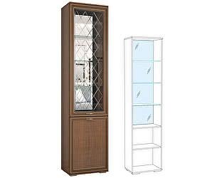 Купить шкаф Domani Ливорно ЛШ-4 (орех данской)