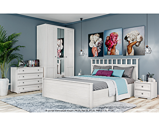 Купить спальню Domani Ричард Комплект 1 (Ясень анкор светлый)