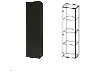 Купить шкаф Сакура Кармен 3(антрацит)