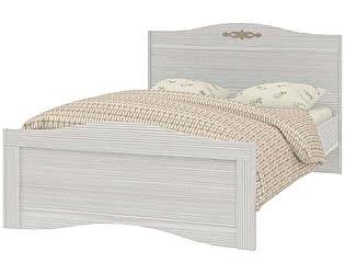 Купить кровать Интеди Вентура ИД 01.257а на 1200 с настилом