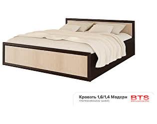 Купить кровать BTS Модерн 160 с настилом, без матраса