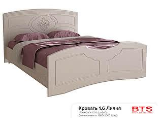 Купить кровать BTS Лилия 160 с настилом, без матраса