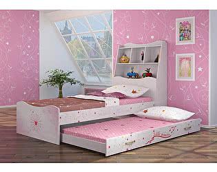 Купить кровать Ижмебель Принцесса Компоновка 5