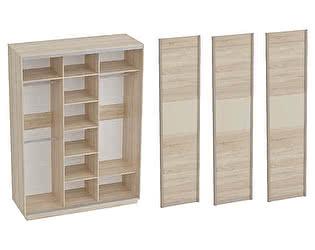 Купить шкаф МебельГрад Навара 3, 3х дверный (дуб сонома)